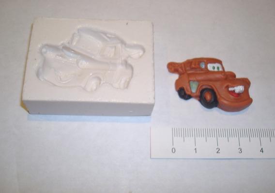 Moldes De Caucho De Silicona Cars Para Porcelana Fria