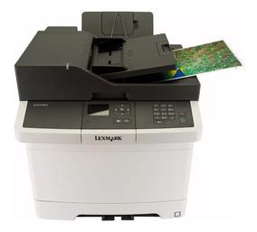 Multifuncional Laser Color Lexmark Cx310dn Nova Garantia