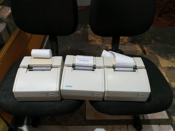 Lote Com Tres Impressora Mecaf Completa Com Fita Nova