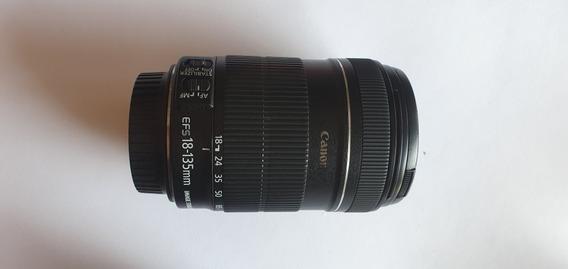 Lente Canon 18-135mm 3.5-5.6