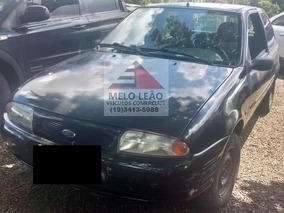 Ford Fiesta 1.0 - 98/98 - Preto, Básico