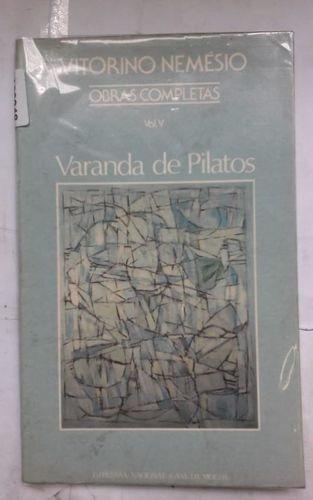Varanda De Pilatos Vol. 5 Obras Completas Vitorino Neme?sio