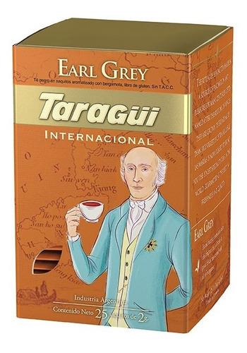 Té Taragüi Internacional Earl Grey