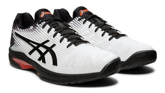 Tênis Asics Solution Speed Ff Branco E Preto Novo
