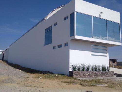Renta De Bodega Nueva 631m2 San Bernardino Chalchihuapan