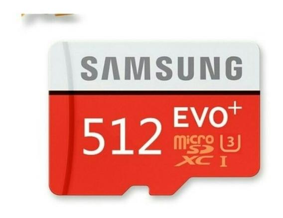 Cartão De Memória Samsung Plus 512 Gb.