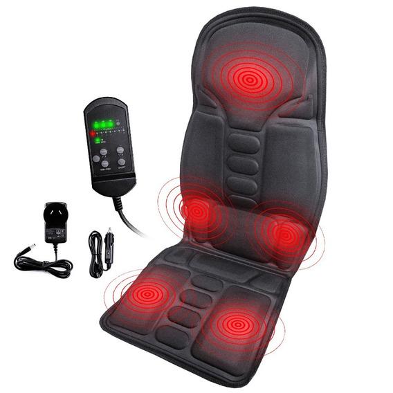 Assento Massageador Para Cadeira Poltrona Escritorio Carro