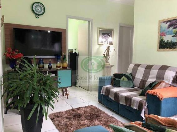 Casa Em Santos; Tipo Sobrado Geminado, Em Vila; 03 Dormitórios; No Bairro Do Marapé - R$360.000,00 - Ca0403
