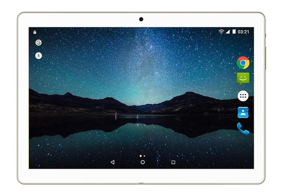 Tablet Multilaser M10a Lite 3g 8gb 10 Pol Dourado Nb268