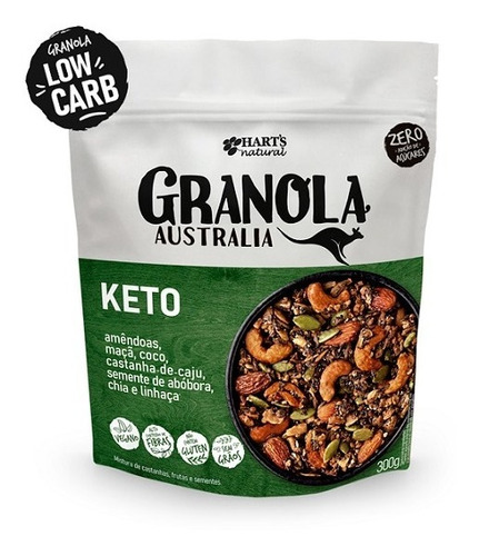 Granola Australia Keto Low Carb Hart´s 300 G