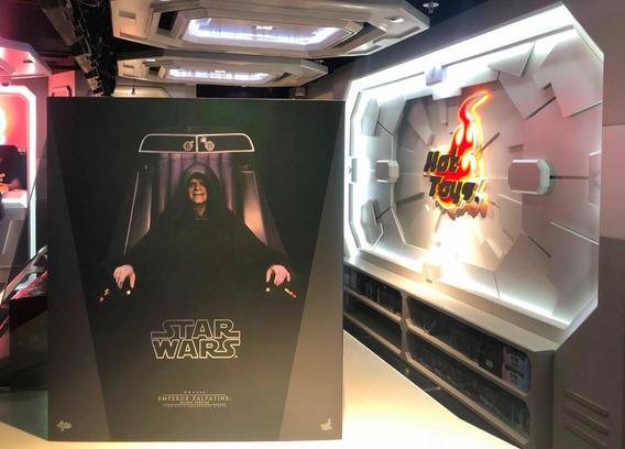 Hot Toys Star Wars Emperor Palpatine Deluxe Con Trono 1/6