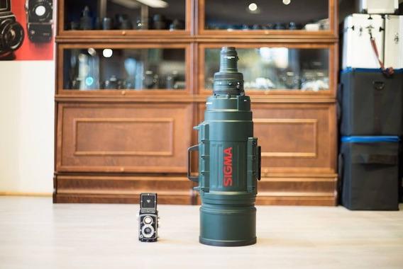 Sigma Apo 200-500mm F/2.8 Com 2x Teleconverter Para Nikon