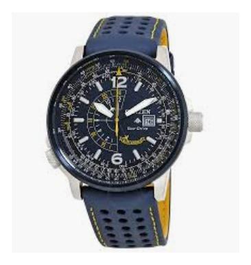 Relógio Citizen Blue Angels Bj7007-02l Promaster Nighthawk