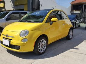 Fiat 500 2012 1.4 Cult Con Techo Km.72000 Amarillo
