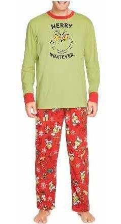 The Grinch Pijama 2 Piezas Hombre