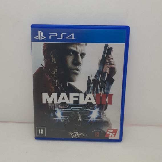 Jogo Mafia 3 Ps4 Semi Novo Testado