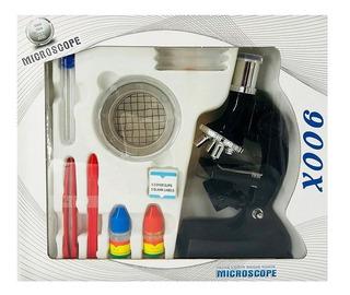 Microscopio Infantil Con Accesorios Juego De Ciencia 900x