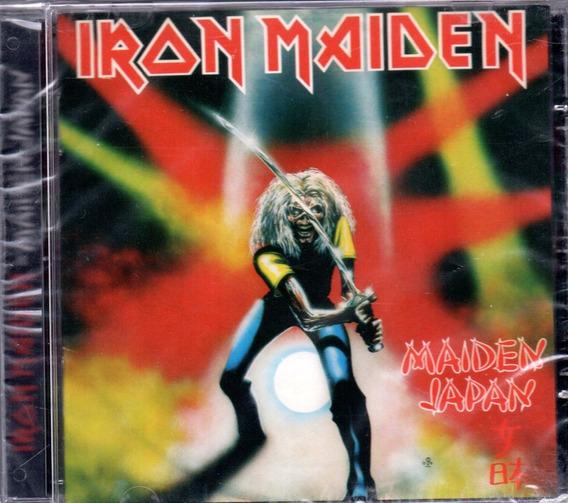 Cd Iron Maiden - Maiden Japan