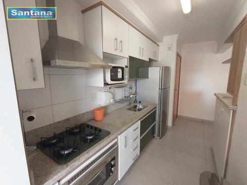 Apartamento Com 3 Dormitórios À Venda, 80 M² Por R$ 380.000,00 - Do Turista - Caldas Novas/go - Ap0555