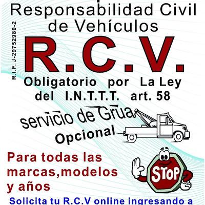 Rcv Responsabilidad Civil Vehiculos