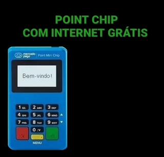Point Mini Chip Nao Precisa De Celular Kit Com 10 Unidades