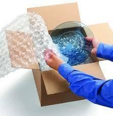 Imagem 1 de 1 de Embalagem Especial Para Envio (caixa E Plástico Bolha)