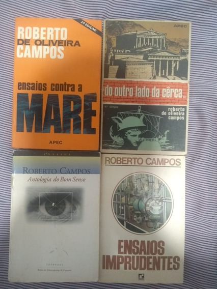 Roberto Campos - 4 Livros