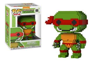 Funko Pop 8-bit Teenage Mutant Ninja Turtles Raphael Tortuga