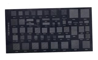 Stencil Universal Para Celulares Y Tablets 55 En 1 Reballing