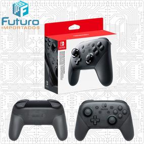 Nintendo Switch Pro Controller Original 9c Pronta Entrega