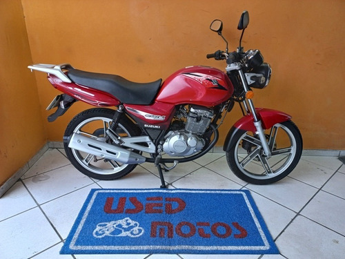 Imagem 1 de 9 de Suzuki Gsr 150i 2013 Vermelha