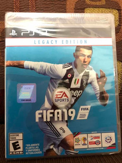 Fifa 19 Legacy Edition Ps3 Nuevo Sellado Playstation