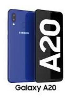 Celular Samsung Galaxy A20 Azul Sm-a205gzklaro