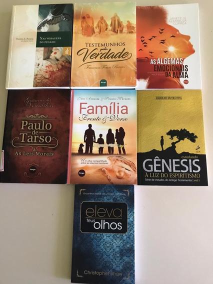 Livros Espíritas Variados - Um Livro R$ 15 Ou Dois R$ 20