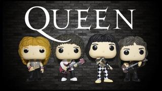 Funko Pop! Queen Mercury, Deacon, Taylor Y May Candos