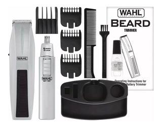 Terminadora Wahl Barba Mustache Cortadora Vello Nasal Oido Casera Combo Con Envío Gratuito