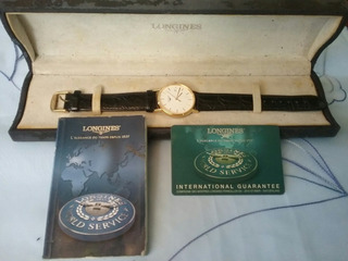 Reloj Logines 47202182 Original Suizo