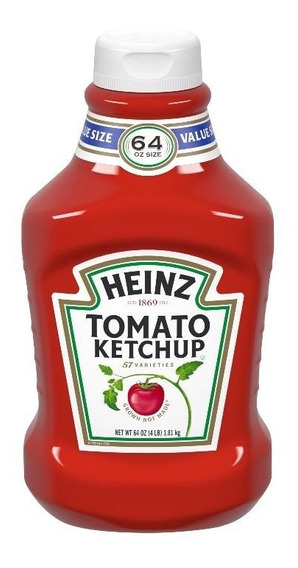 Heinz Salsa De Tomate Ketchup 1,81 Kg Importada