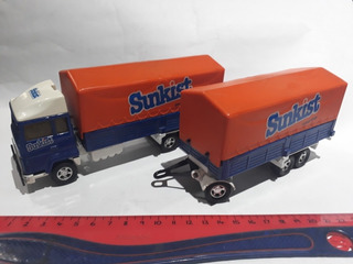 Matchbox Super Kings England K21 Camion Ford Con Acoplado 79