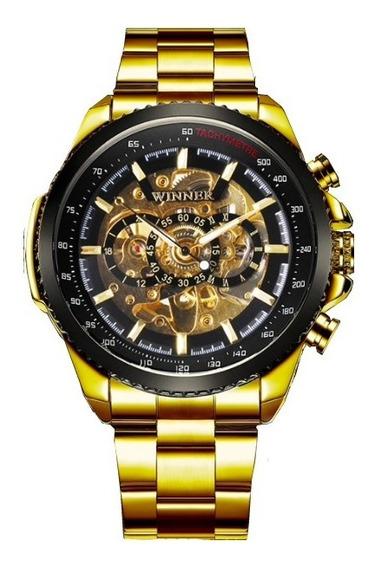 Reloj Winner Original Automático Elegante Casual Inoxidable