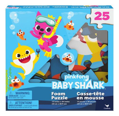 Baby Shark Rompecabezas Foam De Piso 25 Pzs