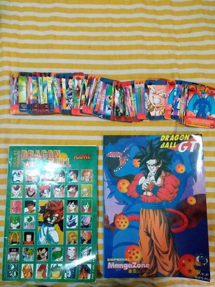 Guia De Pers. Dragon Ball + Guia Capitulos Db Gt + Tarjetas