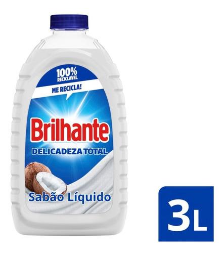 Detergente Liquido Para Roupas Delicadas Brilhante Delicadez