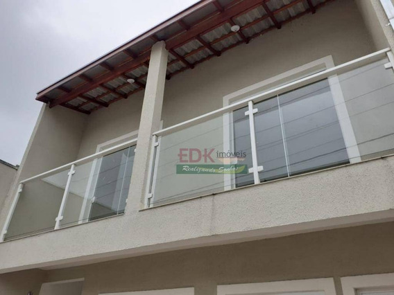 Sobrado Com 2 Dormitórios À Venda, 65 M² Por R$ 152.000,00 - Jardim Panorama - Caçapava/sp - So0750