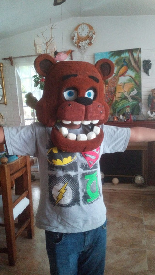 Disfraz Five Nigths At Freddy (cabeza)