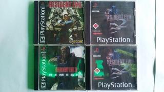 Coleccion Resident Evil Ps1 En Español