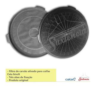 Filtro Carvão Coifa Cata Bivolt (kit C/2)
