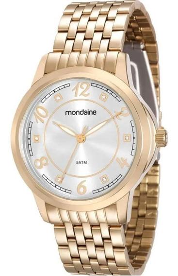 Elegante Relógio Feminino Mondaine 83336lpmvde2 De Vltrine