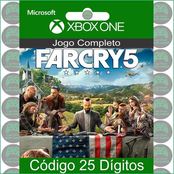 Far Cry 5 - Código 25 Dígitos Oficial Para Xbox One