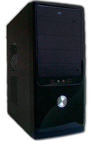 Cpu Torre Nova Celeron 4gb Hd250 Wifi Usb Windows.7 + Brinde